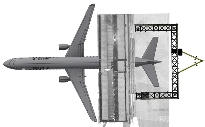 Mobile Hangarerweiterung