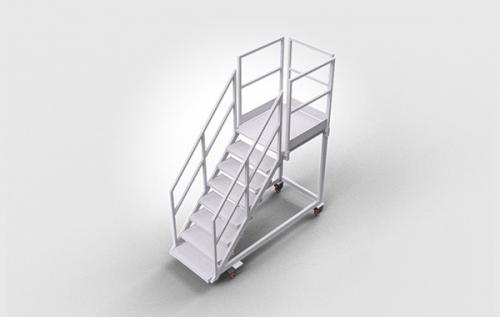Mobile Plattformtreppe Altec Aluminium Technik Gmbh Co Kgaa
